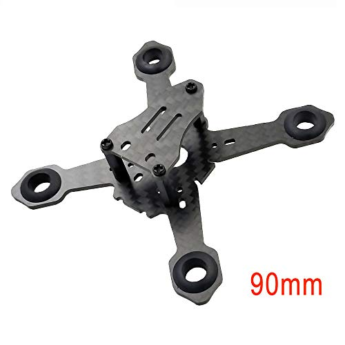 FPV Drone Frame 90mm Mini Racing Quadcopter Support 8520 Coreless Brushes Motor DIY Micro Carbon Fiber Frame Kit by PHISITAL