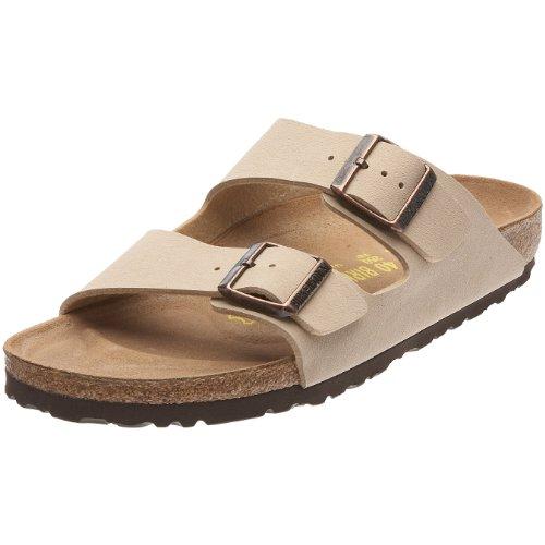 Birkenstock Arizona Mules/Clogs Women Beige - 9.5 - Mules Shoes