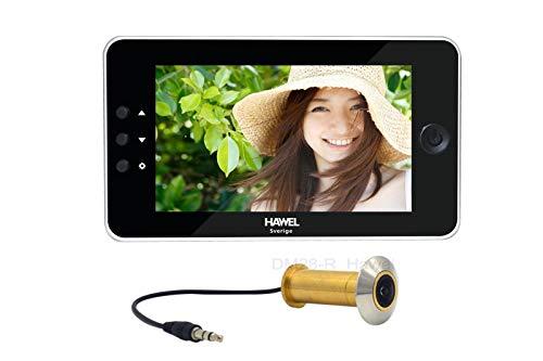 Elektroniskt dörröga HT-DM28SWE+R med 32 GB Micro-SD kort