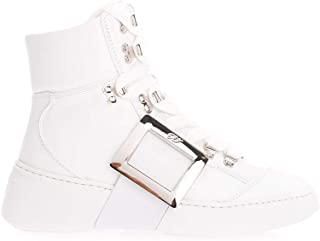 Roger Vivier Luxury Fashion Womens RVW54226840JUSB001 White Hi Top Sneakers | Fall Winter 19