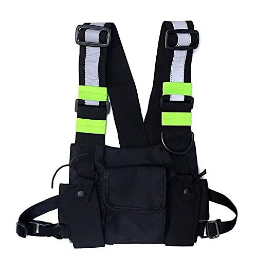 Clape Radio Walkie Talkie Brusttasche Harness Chest Rig Bag Vordertasche Universal Rucksack 2 Wege Funkgeräte Tragetasche Weste Zubehör