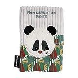 Les DEGLINGOS – Funda para cartilla de salud – Rototos Le Panda – bebé y niño – Peluche – Ultra suave – Divertido – Regalo de nacimiento