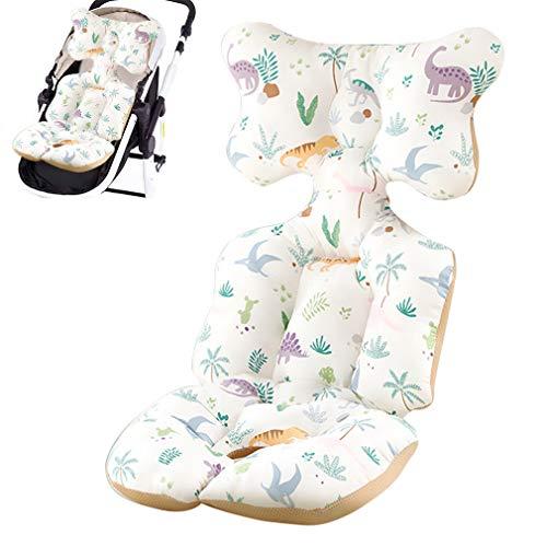 Yuirshion Revestimientos para Asiento de Cochecito de bebé, Inserto de Asiento de Coche para bebé, cojín para Cochecito de Cochecito de bebé, Asiento de Cochecito de bebé Universal de algodón A1