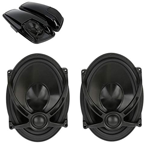 Lowest Price! 5x7 Saddlebag Lid Speakers for Harley Touring Models Electra Street Road Glide FLHTC...