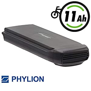 Phylion Akku Typ Joycube SF-03 für E-Bike Pedelec 36V 11Ah für u.a. Fischer Bagier