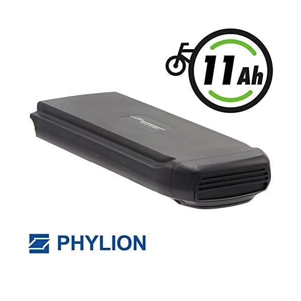 41zIvSvOUlL. SS600  - Phylion Akku Typ Joycube SF-03 für E-Bike Pedelec 36V 11Ah für u.a. Fischer Bagier