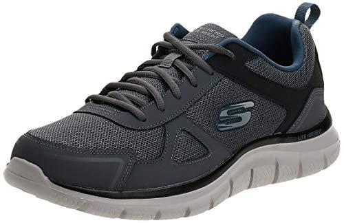 Sneaker da uomo Skechers Track-scloric 52631-bbk, (Gynv), 38.5 EU