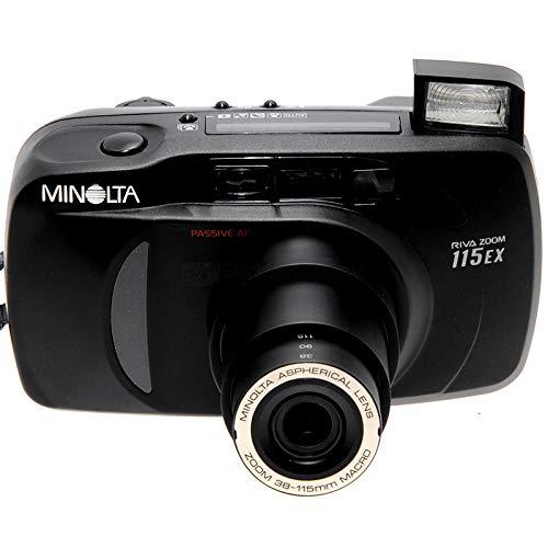 Minolta Riva Zoom 115 EX Kompaktkamera mit 38/115mm Zoom Macro