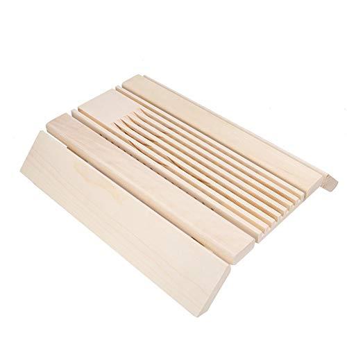 ToppinCN Lampenschirm für Dampfbad, Sauna, Pappelholz, Sauna-Accessoires, Moderne Harfe inklusive