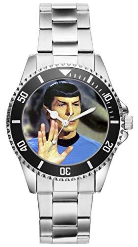 Mr. Spock Star Trek Geschenk Artikel Idee Fan Uhr 9063