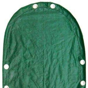Midwest Canvas Corp. Deluxe 18 ft Round Above Ground Winter Cover, 12-Year Warranty MIDWSC18