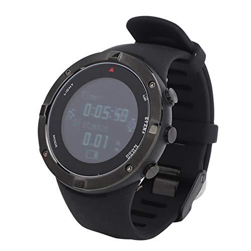DAUERHAFT Durable tiempo previsión localización punto de navegación Bluetooth reloj al aire libre, para exteriores