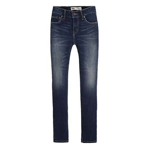 Levi's Boys' Big 519 Extreme Skinny Fit Jeans, Murky Waters, 16
