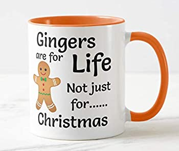 Orange and White Gingers Are for Life Mug Gift