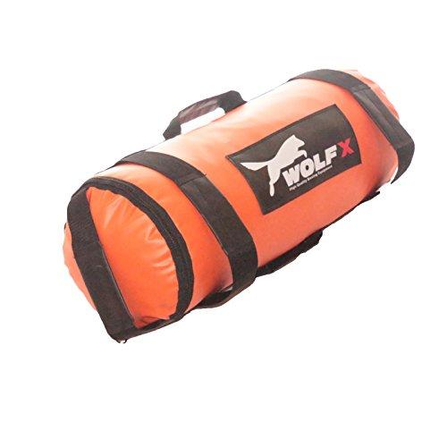 Wolfx Sandbag Weight Power Training Filled Fitness Bag Exercise Running Workout (30kg)