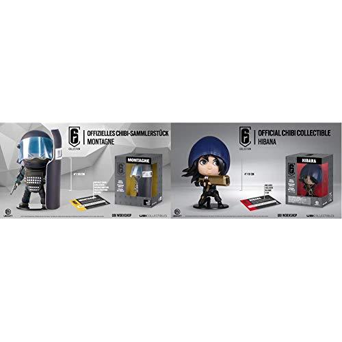 Ubisoft Spain - Six Collection Merch Montagne Chibi Figurine + - Figurina Six Collection Series 2 Hibana