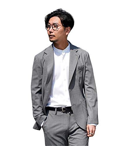 [エディフィス]ハイパーストレッチトロピカル ジャケット【セットアップ着用可能】 48 グレーB
