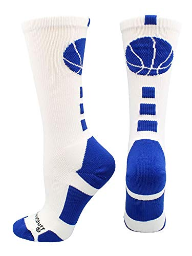 madsportsstuff Basketball Logo Athletic Crew Socken (über 15Farben)