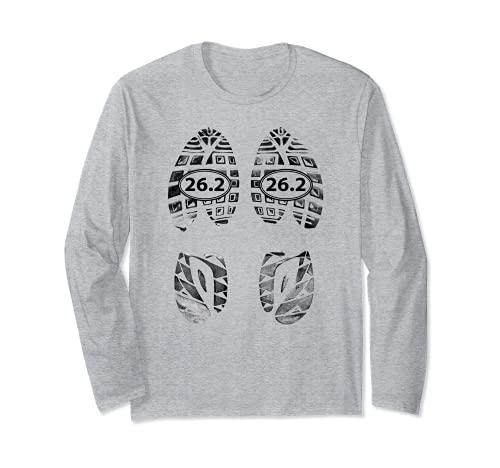 Marathon Runners Gifts – 26.2 Chaussures de course Manche Longue