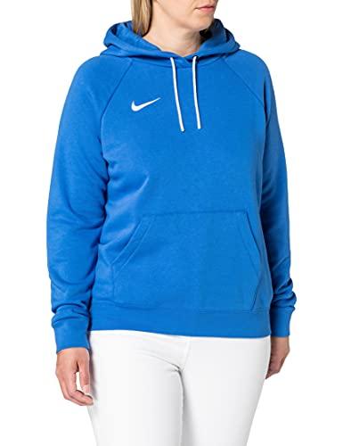 Nike Park 20 Sudadera con Capucha, Mujer, Azul (Royal Blue/White/White), M