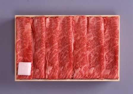 米沢牛 肩ロースすき焼き用 300g