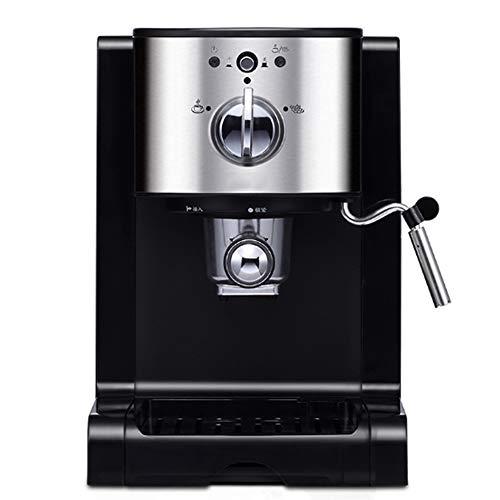 Espressomaschine, Programmierbare Tassengröße, Dampf- Und Heißwasserfunktion Profi-Siebhalter, 20 Bar, 1,5L Wassertank Edelstahl