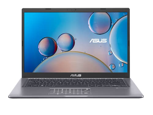 ASUS VivoBook 14 D415UA-EK088T Laptop 35,5 cm (14 Zoll, Full HD, 1980x1080, matt) Notebook (AMD R5-5500U, 8GB RAM, 512GB SSD, AMD Radeon Graphics, Win10H) Indie Black