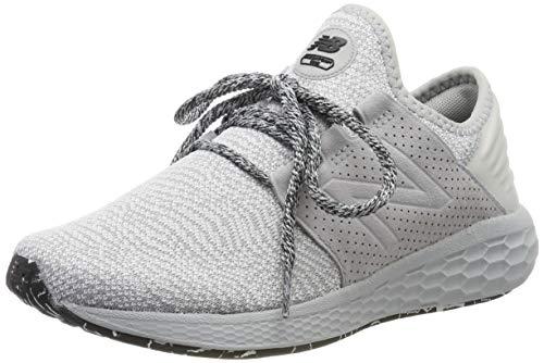 New Balance Damen Fresh Foam Cruz v2 Sneaker, Weiß (Rain Cloud/White/Black Dg2), 41.5 EU