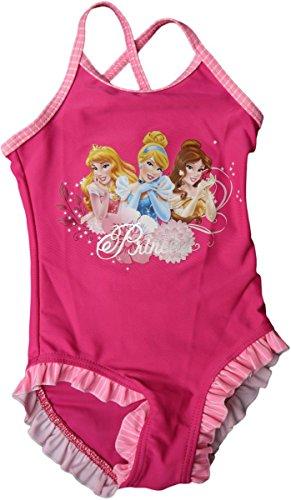 Disney Princess Badeanzug - DREI Prinzessinen - Pink/Rosa/Mehrfarbig