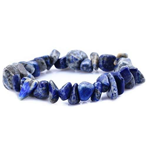 Bracelet Natural Stone 7 Chakra Bangle Crystal Chip Irregular Gravel Strand Bracelet for Women Reiki Healing Girl Jewelry(8-15MM)