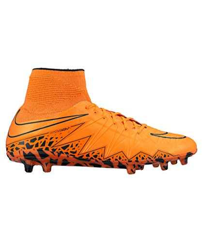 Nike Mens Hypervenom Phantom II FG Firm Ground Soccer Cleats 9 US, Orange/Citrus