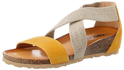IGI&Co Damen Sandalo Donna DSM 51981 Peeptoe Sandalen, Gelb (Ocra 5198166), 41 EU