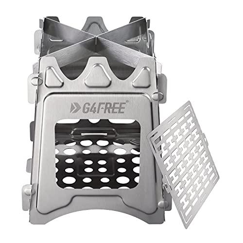G4Free Camping Fornuis Lichtgewicht Vouwkachel Draagbare Kachel Pocket Kachel Backpacken Kachel voor Outdoor Koken