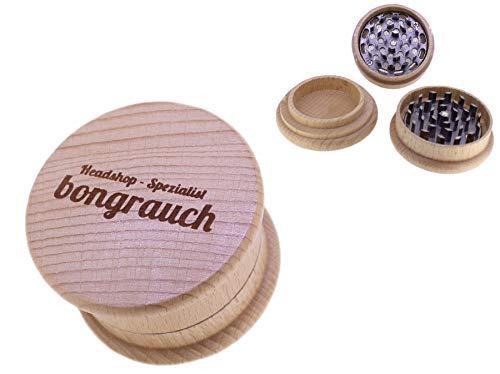 budawi–Crusher in legno Ø 75mm, XL Grinder, Erba mulino in legno Grinder (Macinino per spezie)