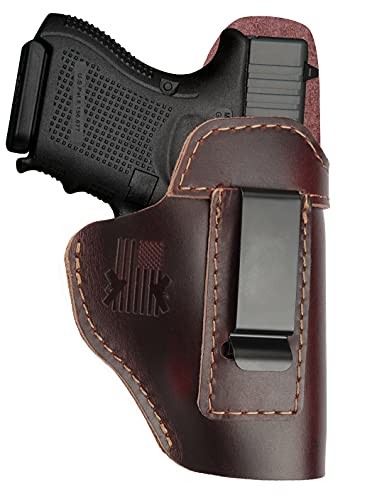 Leather Holster for Glock 17 19 - Taurus G2C G3 G3C - M&P...