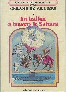 En ballon a travers le sahara (Nathan)