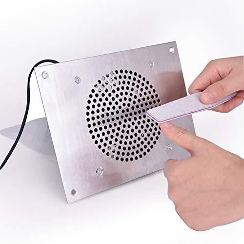 Mesa Embebida Colector de polvo de uñas Aspiradora de ventiladores de mesa...
