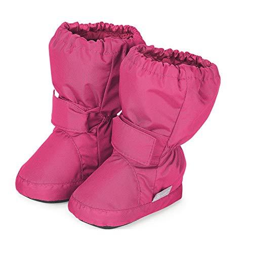 Sterntaler Jungen Mädchen Baby-Schuh Stiefel, Magenta, 22 EU