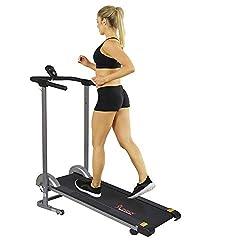 professional Sunny Health  Fitness SF-T1407M Railing Belt Gray