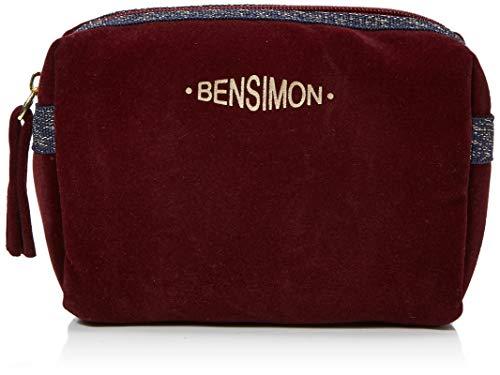 Bensimon Damen Make Up Pocket Handtaschenhalter, Rot (BORDEAUX 0403), 6x10x17 cm