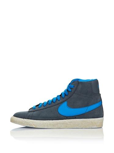 Nike Sneaker Blazer Mid Vintage (GS) Grigio/Blu EU 36 (US 4)