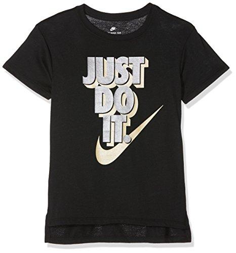 Nike - Fitness-Shirts für Mädchen in Schwarz, Größe L