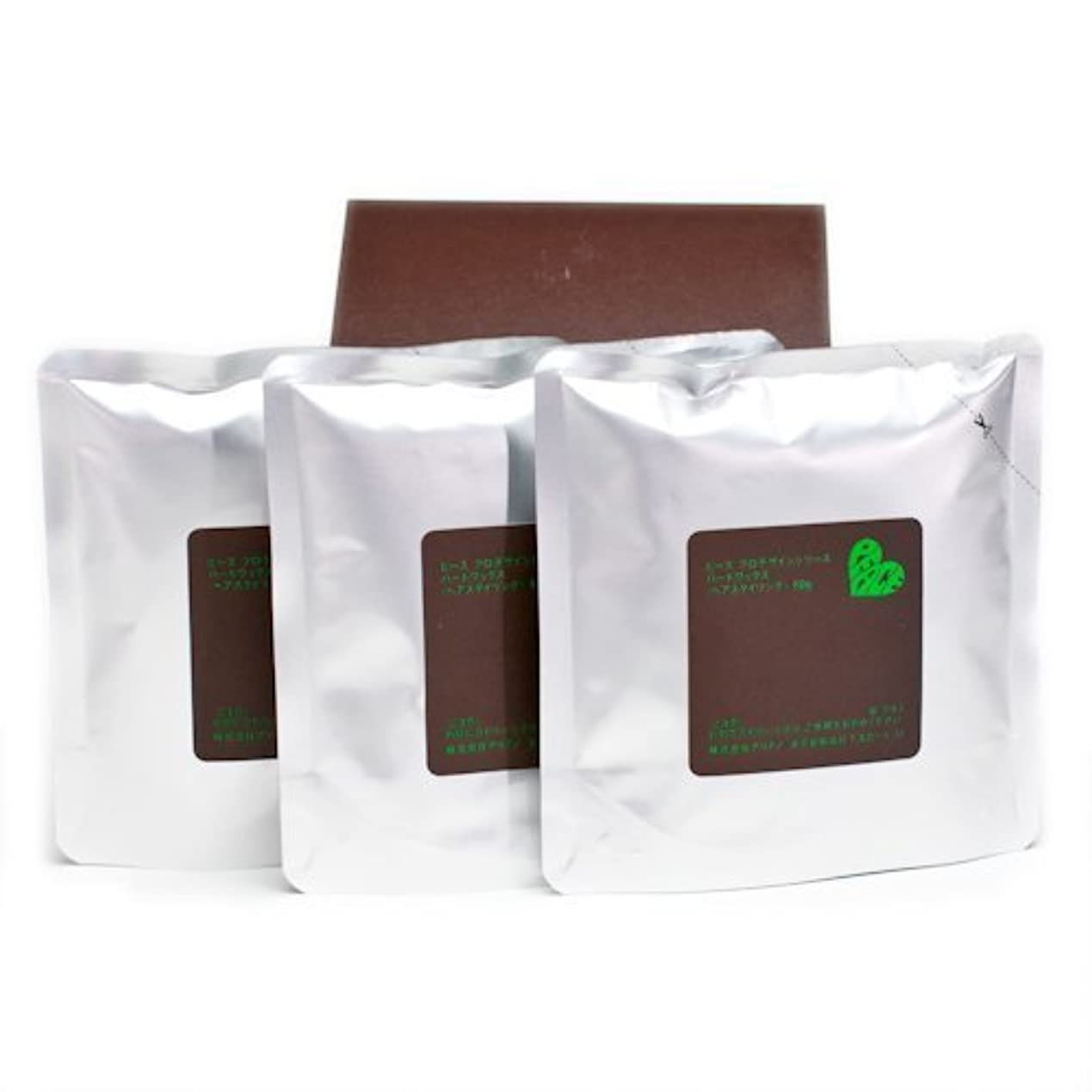キャロラインランデブーアッティカスアリミノ ピース ハードワックス (チョコ) 80g(業務?詰替用)×3個入り