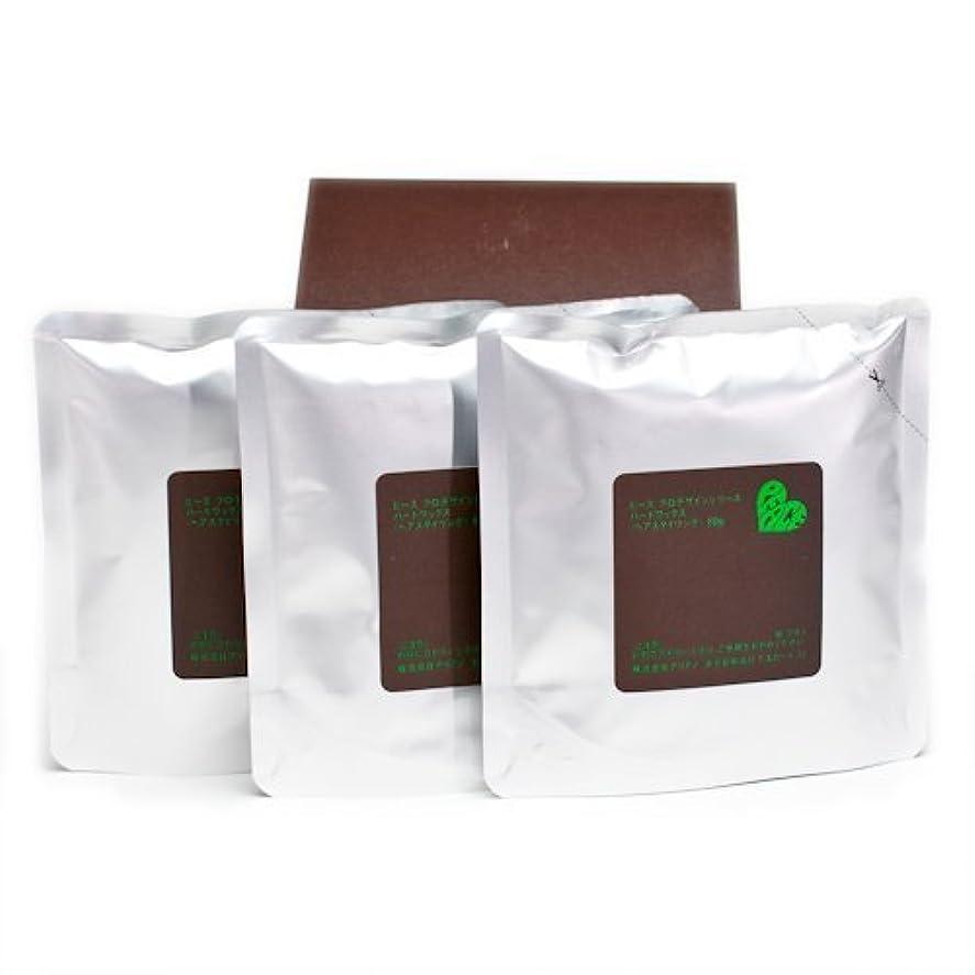 激しいぼろ腐食するアリミノ ピース ハードワックス (チョコ) 80g(業務?詰替用)×3個入り