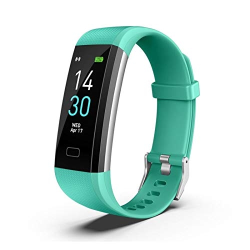 LYB S5 SmartWatch Monitor De Presión Arterial Banda SmartWatches Smart Watch Fitness Traker Bluetooth Impermeable Android iOS (Color : 4)