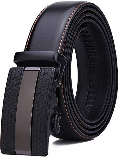 Nelbons Hombre Cinturón-Cuero Automática Cinturón De Hombre 35MM-Tamaño...