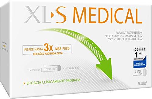 XL-S Medical Captagrasas para Perder Peso - Capta 28% de la Grasa Ingerida (1) -...
