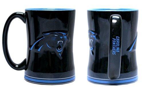 NFL Carolina Panthers 262771 Kaffeetasse, Team-Farbe, 400 ml