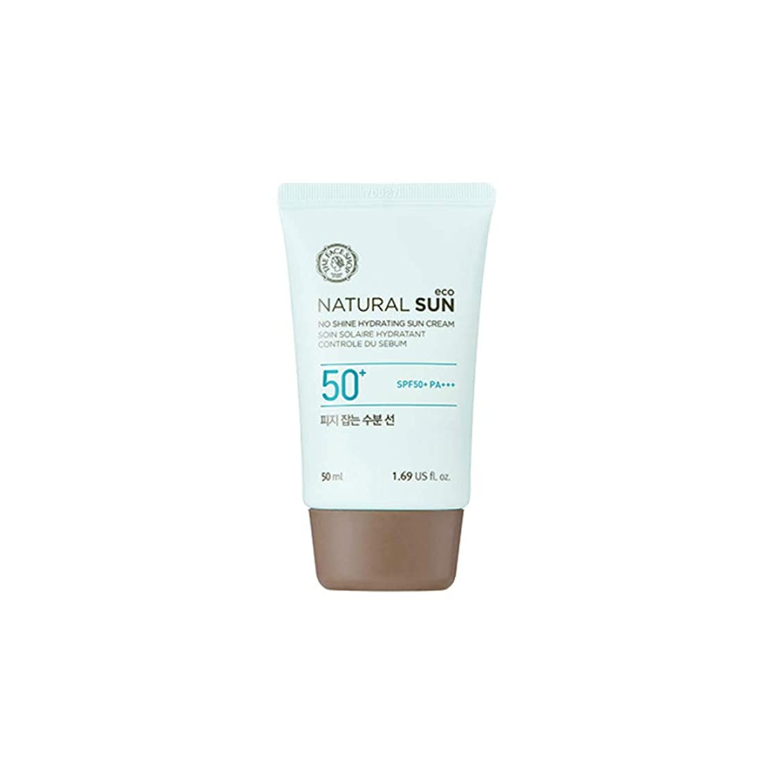 シソーラス礼拝打ち上げる[ザ?フェイスショップ] The Face Shop ナチュラルサン エコ ノーシャイン?ハイドレーティング?サン?クリーム SPF40 PA+++ The Face Shop Natural Sun Eco No Shine Hydrating Sun Cream SPF40PA+++50ml [海外直送品]