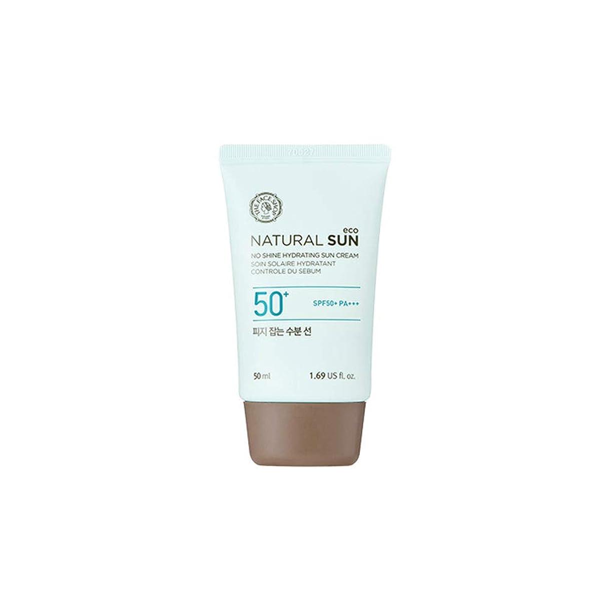 ダイエット温かい重さ[ザ?フェイスショップ] The Face Shop ナチュラルサン エコ ノーシャイン?ハイドレーティング?サン?クリーム SPF40 PA+++ The Face Shop Natural Sun Eco No Shine Hydrating Sun Cream SPF40PA+++50ml [海外直送品]